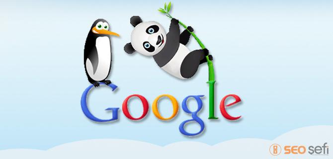 Google Panda ve Penguen arasındaki farklar nelerdir ?