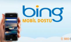 Bing mobil dostu seo