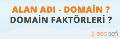 domain faktörleri