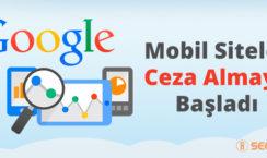 Google mobil yönlendirme cezaları
