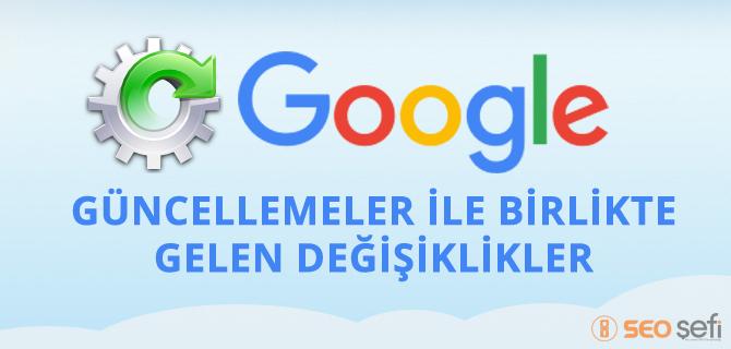 Google Güncellemeleri 2015'te Neleri Değiştirdi