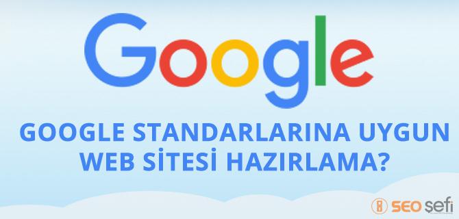 Google standalarına uygun web sayfası?