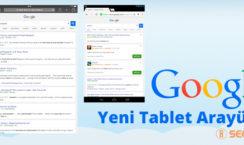 google tablet arayüz güncelleştirmesi