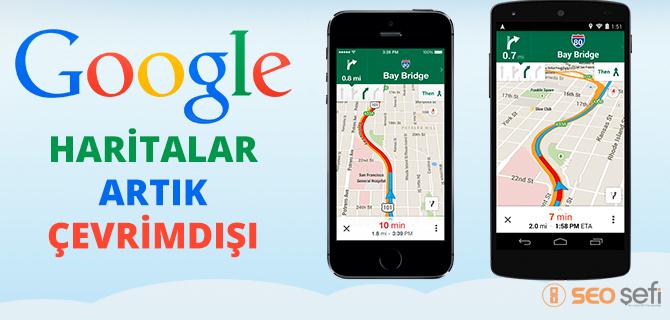Çevrimdışı Google Map Güncellemesi