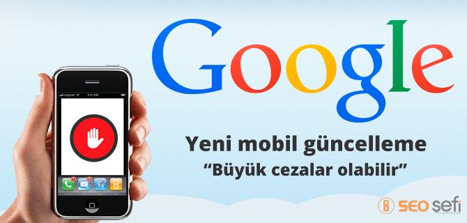 Google mobil algoritma güncellemesi