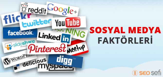 sosyal medya faktorleri