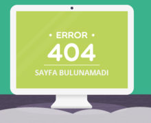 404 hata sayfası