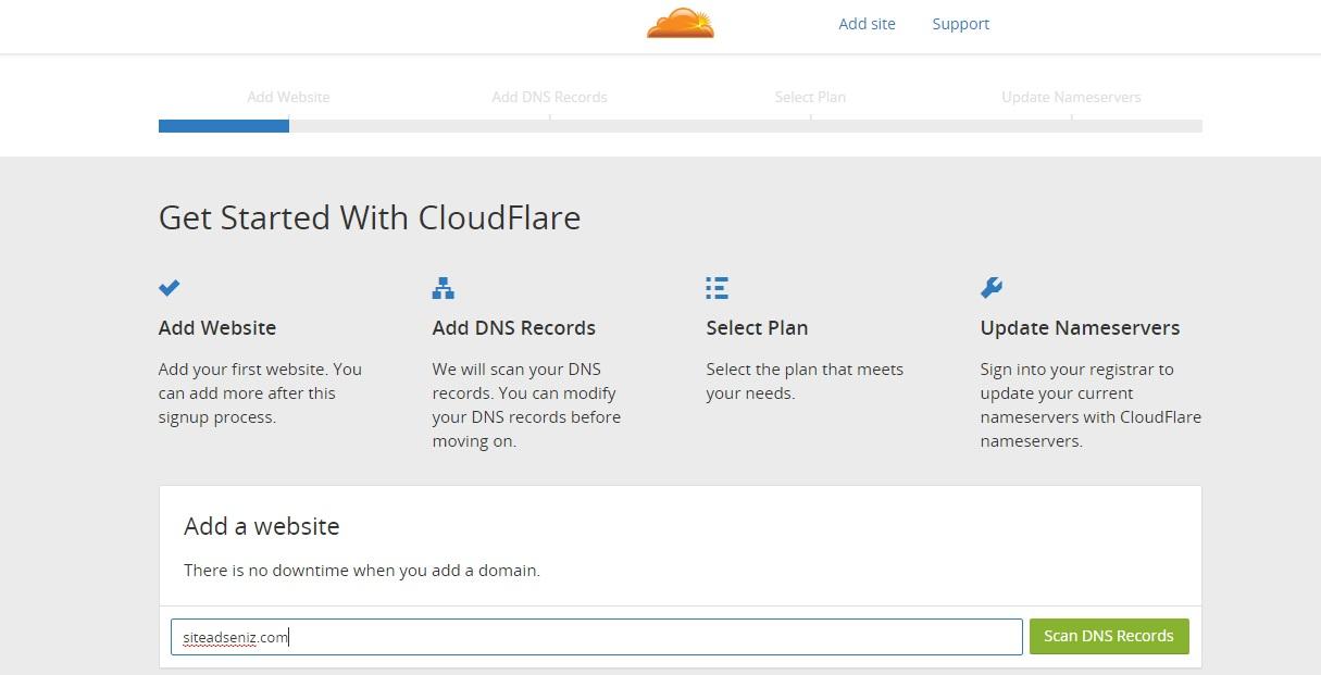 Cloudflare kurulumu resimli anlatım