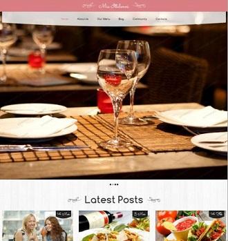 restoran teması