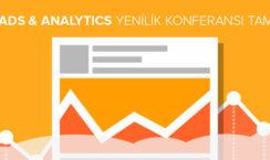 Google Ads & Analytics Yenilik Konferansı