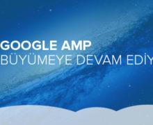 Google AMP Büyümeye Devam Ediyor