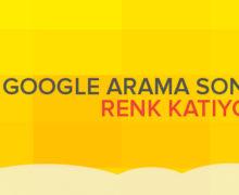 Google Arama Sonuçlarına Renk Katıyor