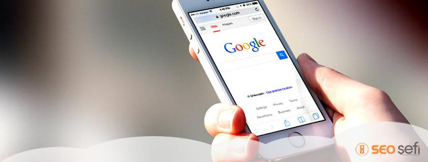 Google Mobil Dostu Algoritmasını Güçlendirdi