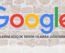 Google yemek görselleri güncellemesi