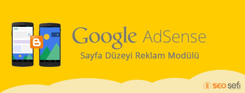 Sayfa Düzeyi Reklam Modülü Nedir ?