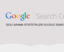 Sesli Arama istatistikleri Google Search Console'a Geliyor