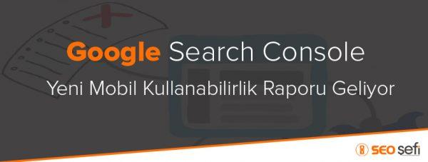 Search Console yeni