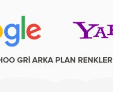 Google ve Yahoo Gri Arka Plan Renklerini Test Ediyor