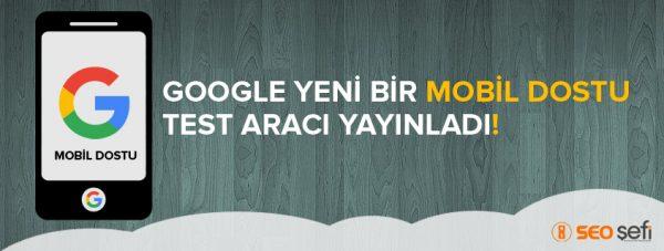google mobil dostu test aracı
