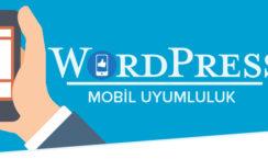 Wordpress Mobil Uyumu