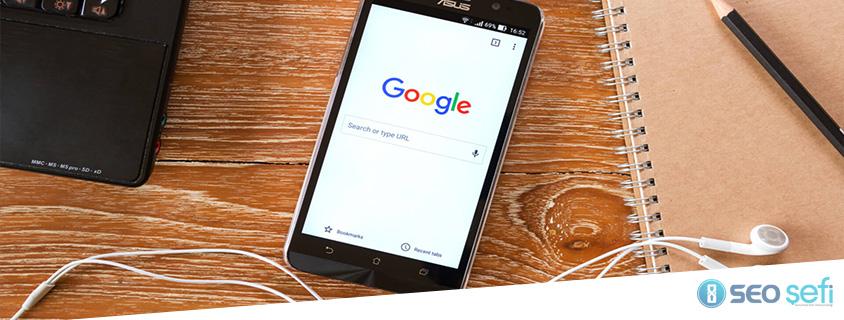 Mobile-first indexing Güncellemesi Yayınlandı