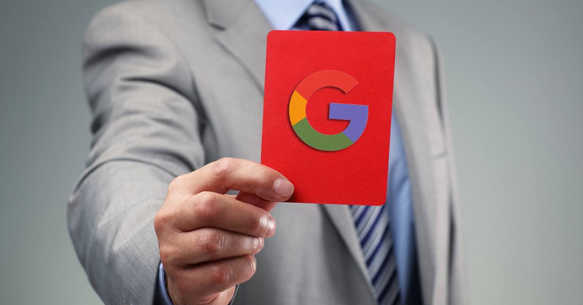 google ceza nedenleri