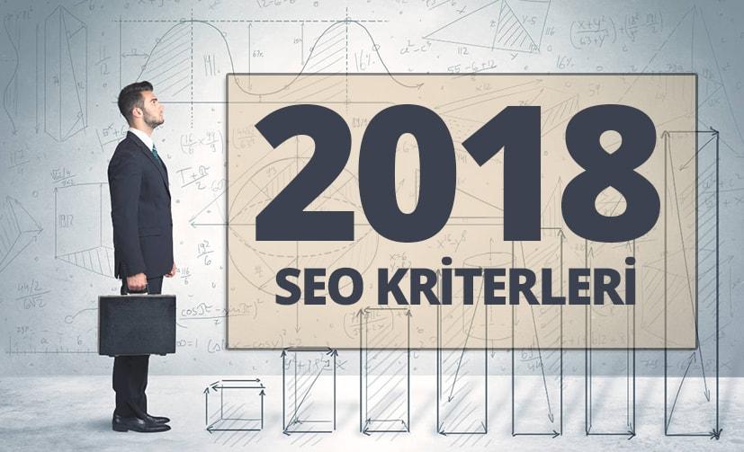 2018 SEO Kriterleri