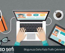 bloga daha fazla trafik çekme