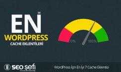 wordpress için cache eklenti seçimi
