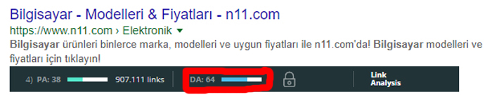Mozbar domain otoritesi