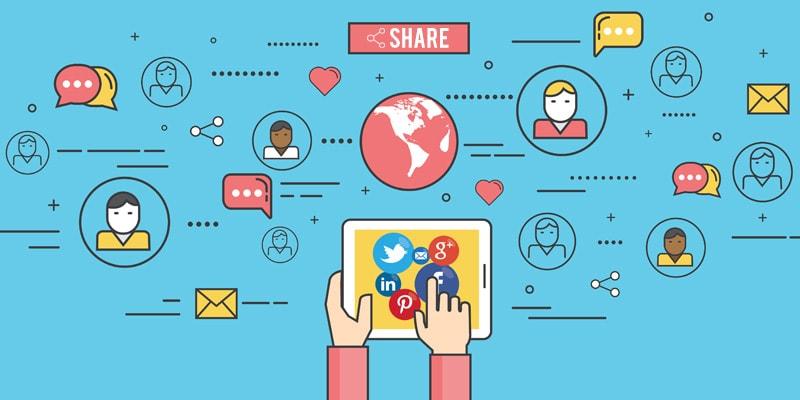 sosyal medyalardan yararlanma