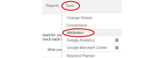 Google AdWords ayarlar ilişkilendirme