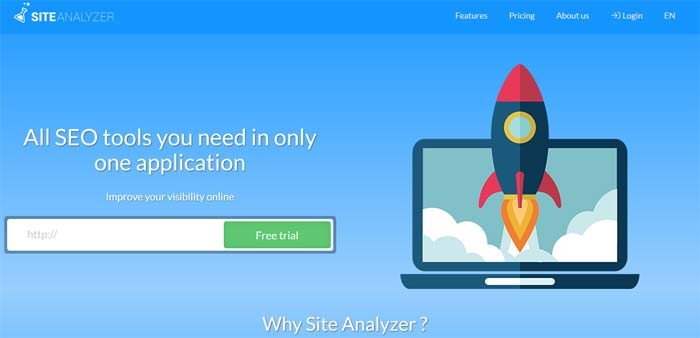 Site Analyzer