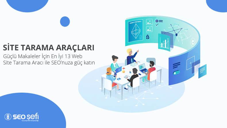 web site tarama araçları