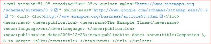 News site haritası
