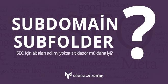 alt klasör alt domain