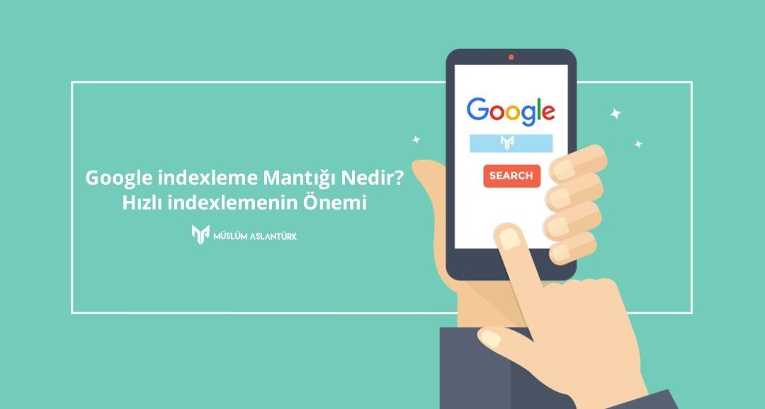 Google indexleme Mantığı Nedir? Hızlı indexlemenin Önemi
