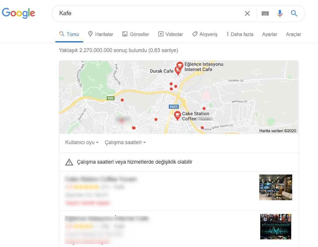pigeon algoritması yerel arama