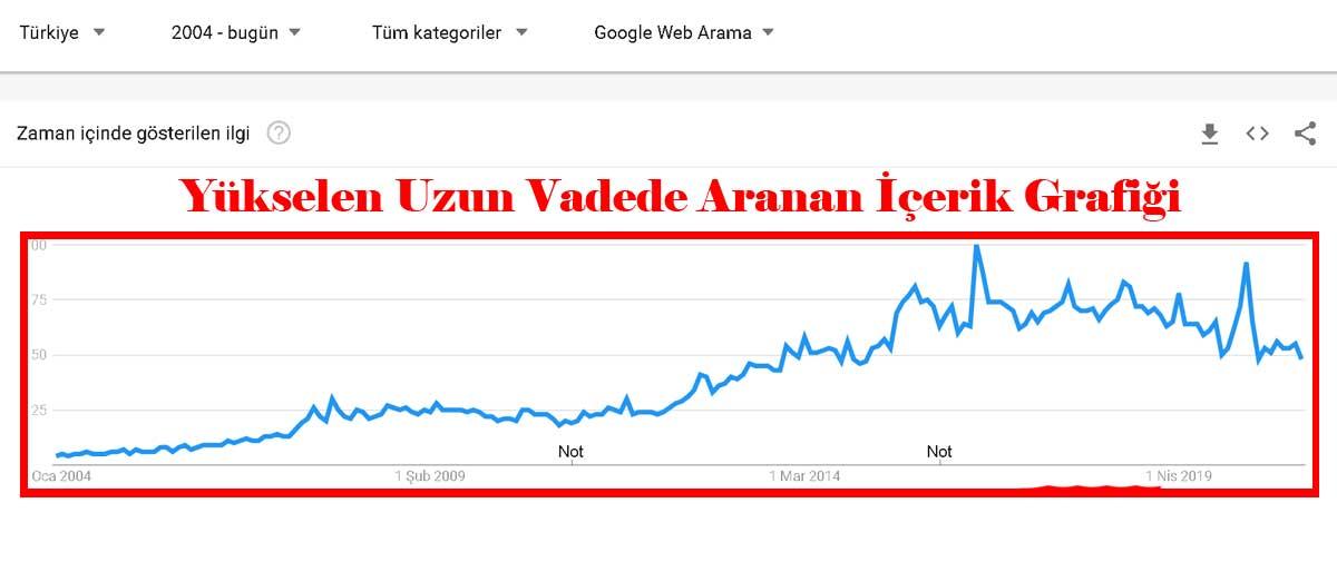 Google trends örneği