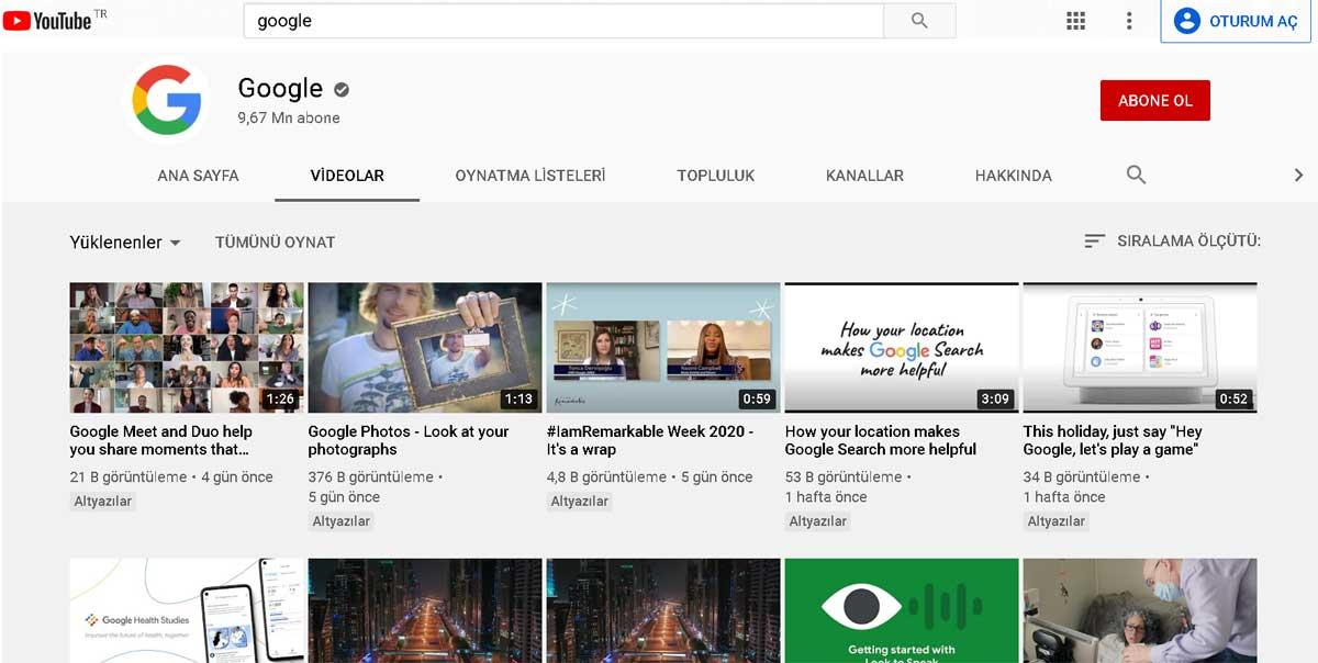 Youtube küçük resim