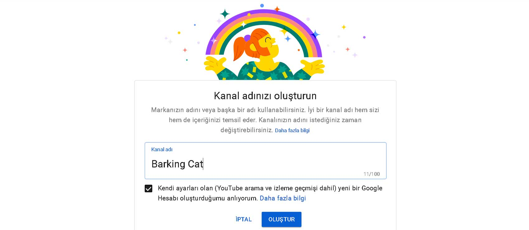 Youtube kanal adı