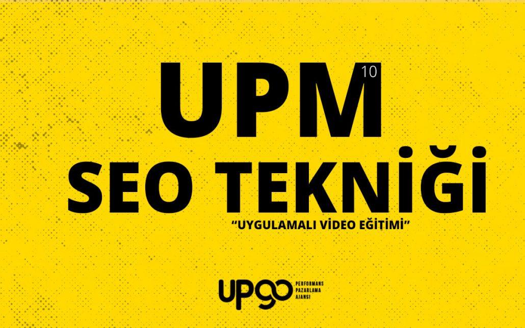 UPM SEO Tekniği